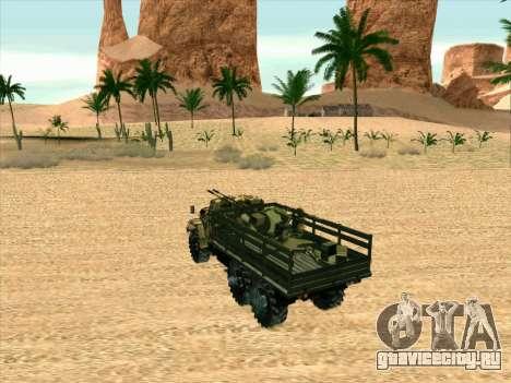 ЗиЛ 131 Шайтан Арба для GTA San Andreas вид сзади