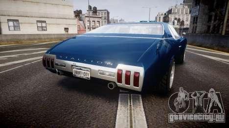 Classique Stallion Fastback для GTA 4