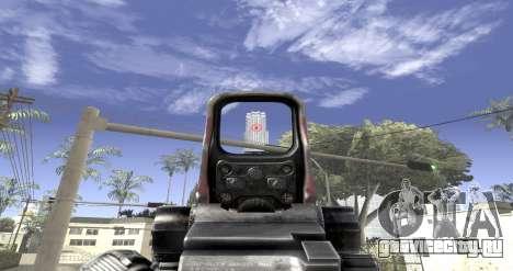 Sniper scope mod для GTA San Andreas третий скриншот