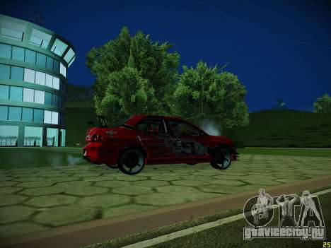 Mitsubishi Lancer Tokyo Drift для GTA San Andreas салон