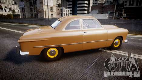 Ford Business 1949 v2.1 для GTA 4 вид слева