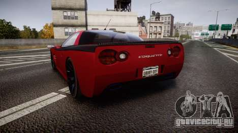 Invetero Coquette Spec-R1 для GTA 4 вид сзади слева