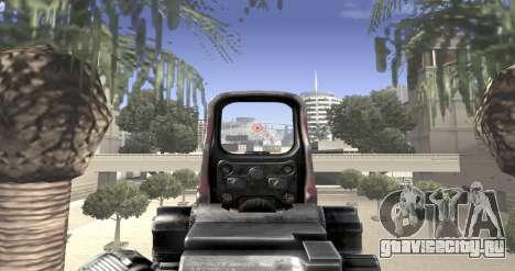 Sniper scope mod для GTA San Andreas четвёртый скриншот
