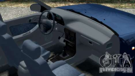 Daewoo Espero 1.5 GLX 1996 для GTA 4 вид изнутри