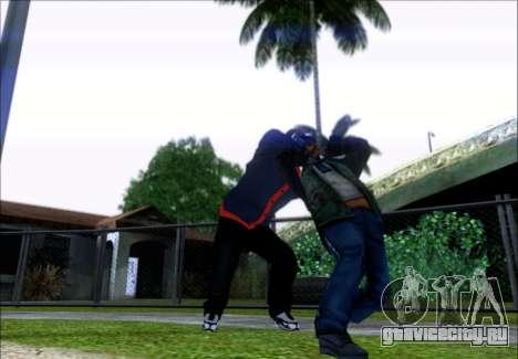 Франклин (Грабитель) из GTA 5 для GTA San Andreas