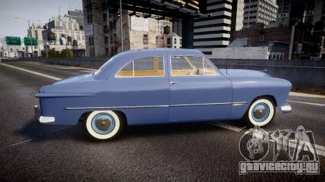Ford Custom Tudor 1949 v2.1 для GTA 4 вид слева