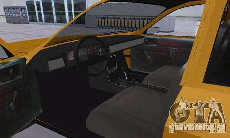 Renault 12 SW Taxi для GTA San Andreas вид сбоку