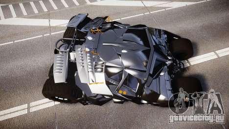 Batman tumbler [EPM] для GTA 4 вид справа
