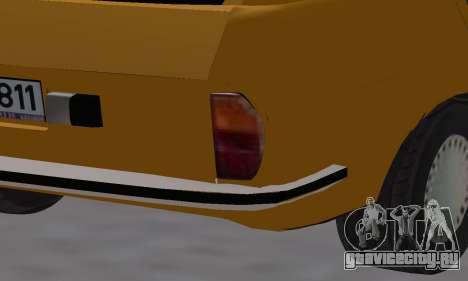 Renault 12 SW Taxi для GTA San Andreas салон