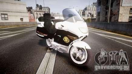 BMW K1200LT Police [ELS] для GTA 4