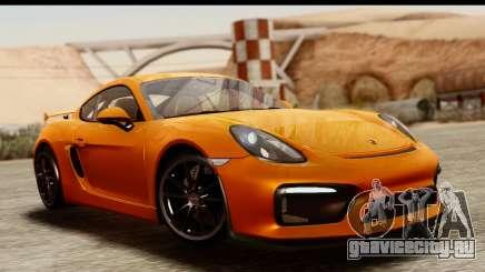 Porsche Cayman GT4 981c 2016 купе для GTA San Andreas