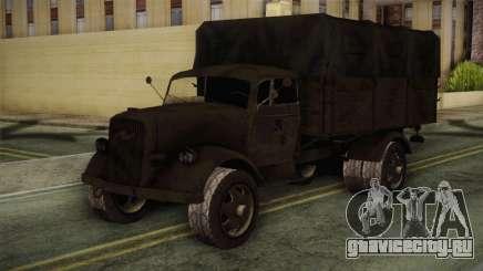 Opel Blitz (CoD: World at War) для GTA San Andreas