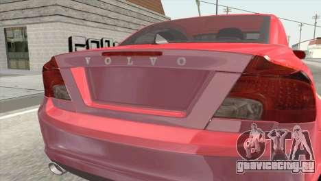 Volvo C70 2011 Stock для GTA San Andreas вид сзади