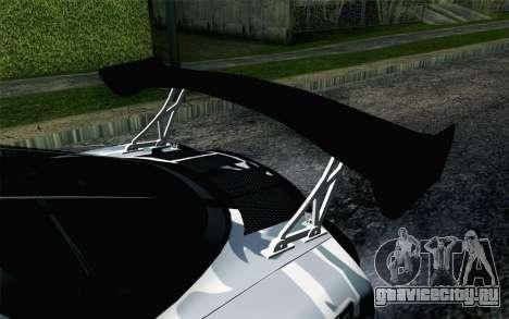 Mazda RX-7 MadMike для GTA San Andreas вид сзади