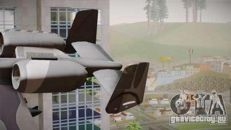 A-10A The Idolmaster -SP- для GTA San Andreas вид сзади слева
