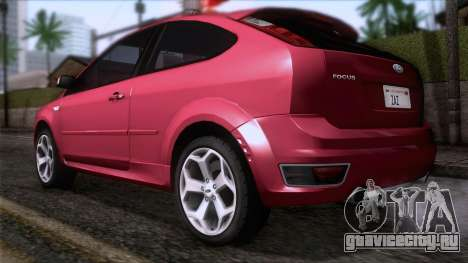 Ford Focus ST Tunable для GTA San Andreas вид слева