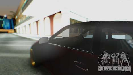 Toyota MR2 для GTA San Andreas вид изнутри