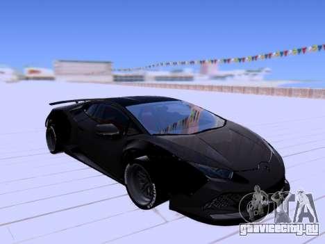 ENB Huston Family v2.0 для GTA San Andreas второй скриншот