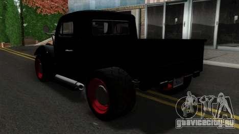 GTA 5 Bravado Rat-Truck SA Mobile для GTA San Andreas вид слева