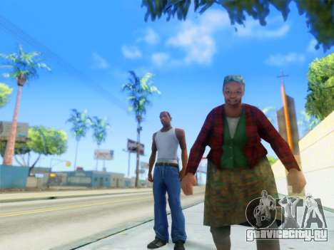ENB Graphics Enhancement v2.0 для GTA San Andreas второй скриншот