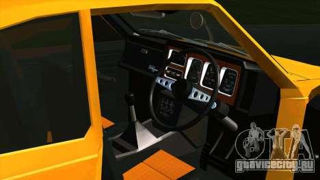 Mitsubishi Minica Skipper для GTA San Andreas вид сзади