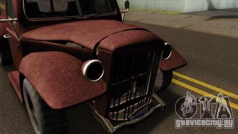 GTA 5 Bravado Rat-Loader IVF для GTA San Andreas вид справа
