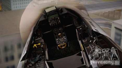 F-16 Fighting Falcon RNLAF Solo Display J-142 для GTA San Andreas вид сзади