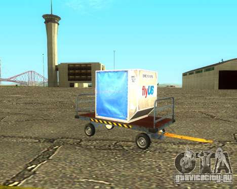 New Bagbox B для GTA San Andreas вид справа