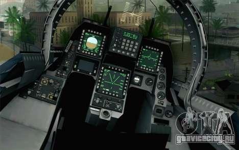 F-2A Viper 60th Anniversary of JASDF для GTA San Andreas вид сзади