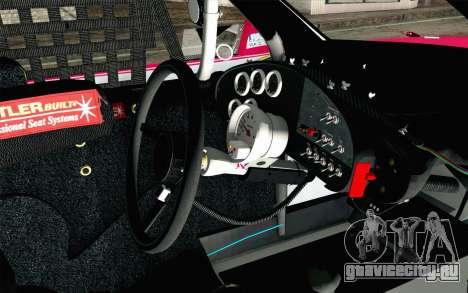 NASCAR Toyota Camry 2012 Plate Track для GTA San Andreas вид справа