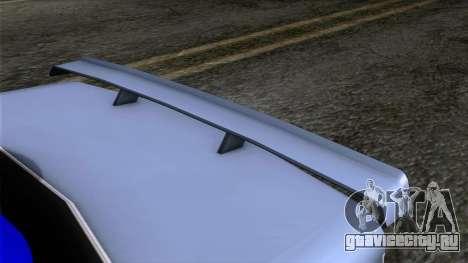 Primo GT для GTA San Andreas вид сзади