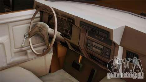 Ford F-150 1984 для GTA San Andreas вид справа