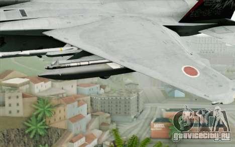 F-15J Kai 60th Anniversary of JASDF для GTA San Andreas вид справа