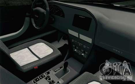 GTA 5 Karin Kuruma v2 SA Mobile для GTA San Andreas вид сзади