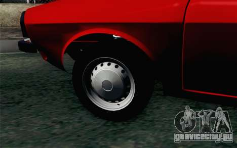 Dacia 1310 TX для GTA San Andreas вид сзади слева