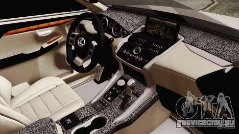 Lexus NX 200T для GTA San Andreas вид справа