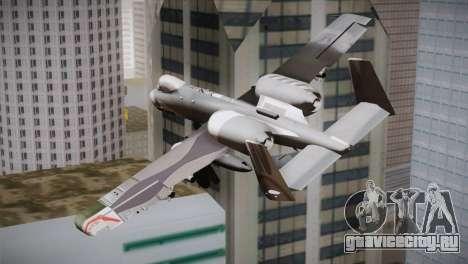 A-10A The Idolmaster -SP- для GTA San Andreas вид слева