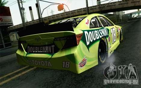 NASCAR Toyota Camry 2013 v4 для GTA San Andreas вид слева