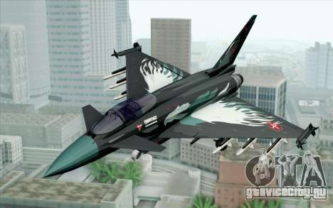 EuroFighter Typhoon 2000 Black Hawk для GTA San Andreas