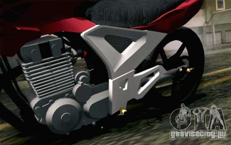 Honda Twister 250 v2 для GTA San Andreas вид сзади