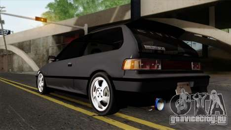 Honda Civic EF Hatchback для GTA San Andreas вид слева