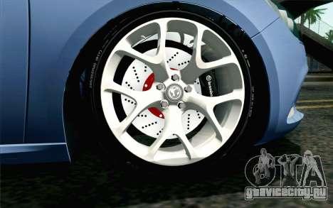 Vauxhall Astra VXR 2012 для GTA San Andreas