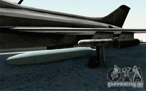 MIG-21 Fishbed C Vietnam Air Force для GTA San Andreas вид справа