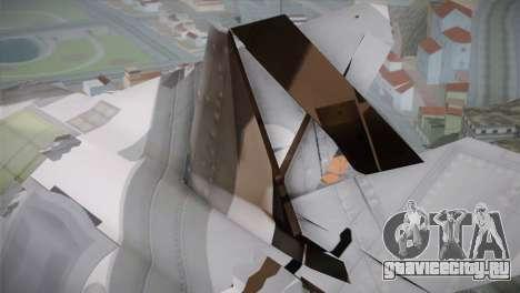 F-15 JASDF 50th Anniversary для GTA San Andreas вид справа