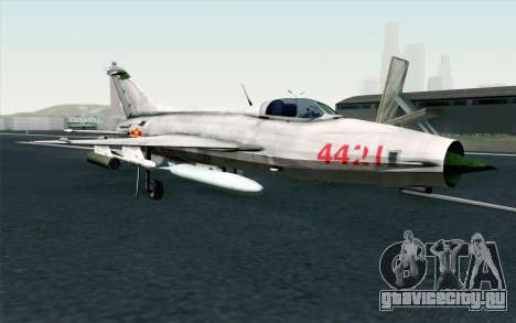 MIG-21 Fishbed C Vietnam Air Force для GTA San Andreas