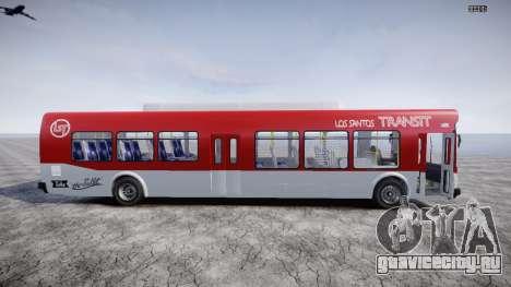 GTA 5 Bus v2 для GTA 4 вид слева
