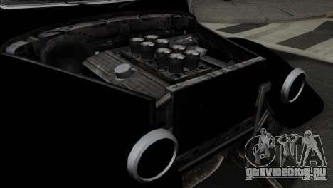 GTA 5 Bravado Rat-Truck SA Mobile для GTA San Andreas вид сзади