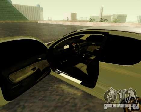 Peugeot 206 Street Racer Tuning для GTA San Andreas вид сзади