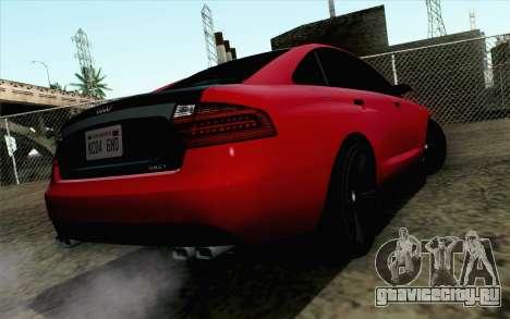 GTA 5 Karin Kuruma v2 для GTA San Andreas вид слева