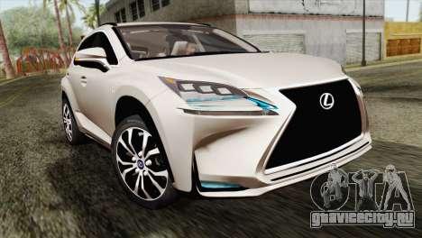 Lexus NX 200T для GTA San Andreas